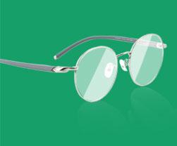 超轻大脸专用眼镜
